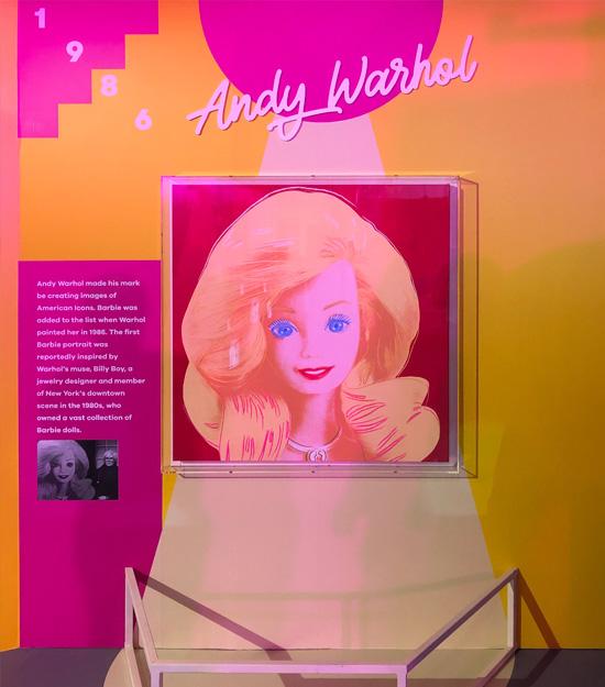 Barbie by Andy Warhol